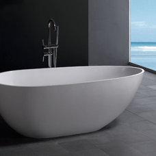 Modern Bathtubs by The Interior Gallery
