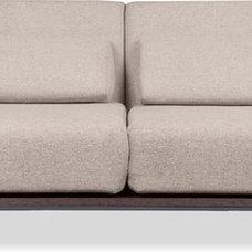 Modern Futons Copperfield Beige-Grey Sofa Bed