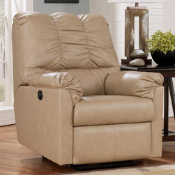 Signature Design By Ashley Rocker Recliner In Natural