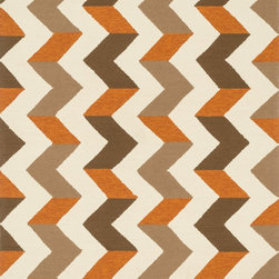 "Loloi - Loloi Palm Springs PM-03 (Brown, Orange) 3'6"" x 5'6"" Rug - For the first time ever, world renowned designer Dann Foley brings his eye for great design and modern living to outdoor rugs.With patterns and colors as dynamic as Dann's persona, the Palm Springs Collection reflects Dann's passion for fun outdoor decorating. Palm Springs is hand hooked in China of 100% polypropylene that's specially treated to be fade-resistant in spite of regular sunshine or rain."