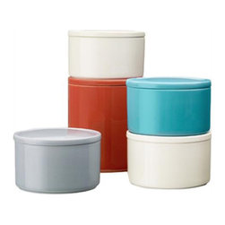 Purnukka Jars By Kaj Franck For Iittala - These ceramic containers would be at home in my kitchen, my bath or my studio. I love a good versatile piece that can be moved around and re-purposed once I get tired of it.