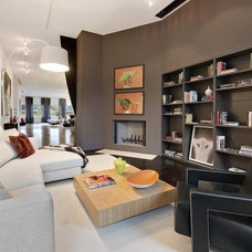 Contemporary Wall Shelves by Dayoris Custom Woodwork