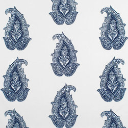 Ralph Lauren Robbins Hill Paisley Admiral Fabric - Blue and white paisley never gets old for me, and I smiled when I came across this outdoor version. Who knew something so pretty could also be so durable?