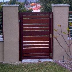 Custom Gates - Ipe Hardwood Gate