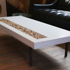 Modern Benches by BDWG Concrete Studio