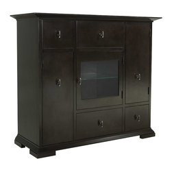 Broyhill - Broyhill Perspectives Media Chest in Graphite Finish - Broyhill - Chests - 4444225 - About This Product: