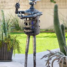 Eclectic Garden Sculptures by Kevin Caron Studios