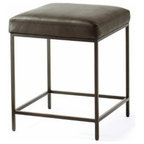 Urban Modern Vanity Bench Chrome Contemporary Accent