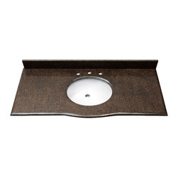 Avanity - PROVENCE Stone Top - 24in. Imperial Brown - PROVENCE Stone Top - 24 in.  Imperial Brown