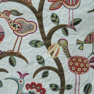 Crazy 'ol Bird Sunrise Fabric - Pattern: Crazy ol Bird