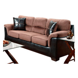 Chelsea Home Furniture - Chelsea Home Annabelle Sofa in Laredo Chocolate - Annabelle Sofa in Laredo Chocolate belongs to Verona IV collection by Chelsea Home Furniture.