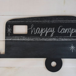 Vintage Camper Chalkboard by 163 Design Company - What's not to love about a camper chalkboard? I would love one for my kiddos' room. The designers use lightweight wood from a eucalyptus tree (grown on sustainable tree farms) that's heat-pressed into a board. So you can rest easy knowing that there's no glue or formaldehyde used. Speaking of, I've noticed that a lot of Maine makers have a definite desire to use sustainable, ecofriendly materials and techniques in their designs.