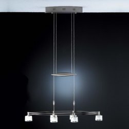 Holtkoetter | Low-Voltage Halogen Chandelier No. 5506/6 -