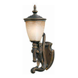 Triarch International - Triarch 75531-14-L Lion Oil Rubbed Bronze Outdoor Wall Sconce - Triarch 75531-14-L Lion Oil Rubbed Bronze Outdoor Wall Sconce