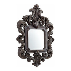 Old World Acanthus Leaf Ornate Wall Mirror - *El Gallo Mirror