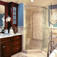 Traditional Bathroom by Peter Salerno Inc