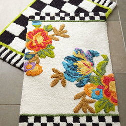 Courtly Check® & Flower Market Bath Mats -