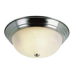 Trans Globe Lighting - Trans Globe Lighting 13617 BN Flushmount In Brushed Nickel - Part Number: 13617 BN