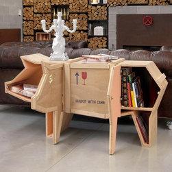 Seletti - Pig Sending Animals Wooden Furniture | Seletti - Design by Marcantonio Raimondi Malerba.