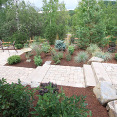 Traditional Landscape by Prairie Outpost Garden Design INC.