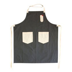 Michael White Apron - Named after our mentor, idol and chef Michael Cimarusti of Providence Restaurant in Los Angeles, this apron is in his complete honor, simple, humble and perfect.