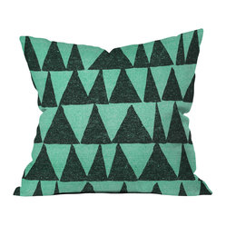 Nick Nelson Analogous Shapes 1 Throw Pillow, 18x18x5