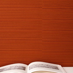 Mantilla Wallcovering - Designed by Suzanne Tick, Mantilla is reminiscent of handwoven grasscloth.