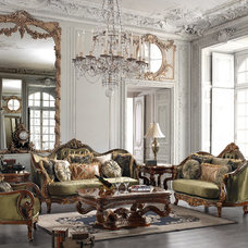Traditional Living Room Furniture Sets by Uno Furniture