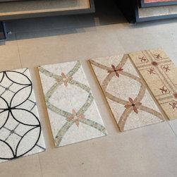 Royal Stone & Tile Showroom - Custom Mosaic Pattern from Royal Stone & Tile