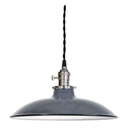 Barn Light Electric Co. - Ivanhoe® Sinclair Porcelain Pendant -