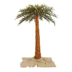 10 ft. Artificial Pre-Lit Christmas Royal Palm Tree - 10 ft. Christmas Royal Palm Tree