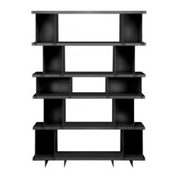 Blu Dot - Blu Dot   SHILF Shelving Version 4.0 - Blu Dot's modular SHILF Shelves put you in the designer's seat. Build customized shelving with cube, shelf flat and foot components, without tools or hardware. Blu Dot offers in four preconfigured models and leaves the architectural plans to you. This version gives you the utmost in storage capacity. The biggest and baddest of four pre-configured options, SHILF Shelving Version 4.0 includes (2) Foot Blocks, (2) Short Blocks, (8) Tall Blocks and (6) Short Shelves. Select from several powder coat finishes.