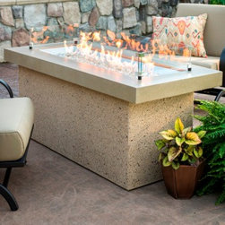 Key Largo gas Fire Pit Table - Photo By Gamut 1 Studios