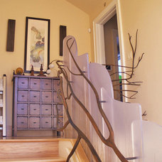 Eclectic Staircase by Melinamade Interiors