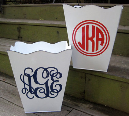 waste baskets by Etsy