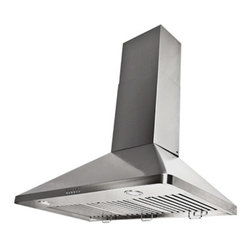 "Proline - Proline PLJW 129 Wall Range Hood, 30 - Proline PLJW 129 Professional Range Hood. Electronic Controls, Stainless Steel Baffle Filters, and 900 CFM Blower Included!  One of the most powerful and quiet Range Hoods on the market, 900 cfm! This is a great size and Value, With lifetime, stainless baffle filters you are guaranteed years of trouble free, zero maintenance, use. Built for the most demanding applications this hood is Designed to be used! Stainless Baffle Filters that are easy to remove, and the quietest 280 CFM setting in the industry. (Based on comparable size and local blower capacity). 900 CFM total capacity with Elegant and Efficient ""Time Delay"" Touch Controls. This Range Hood comes with blower and fan completely installed, and factory tested. This makes the installation one of the easiest in the industry."