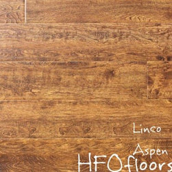 Linco Rocky Mountain - Rocky Mountain Collection Aspen Gold 12mm distressed birch laminate. Available at HFOfloors.com.