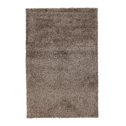 "Surya - Surya Venetian Plush Rectangle Ash Gray 5' x 8' Area Rug - Since 1976 Surya has established itself as one of India's leading producers of fine hand-knotted, hand-tufted, and flat-woven rugs. Their products are sold in the U.S.A. at respected department and specialty stores. The company is known for its quality, value, dedication, and innovation. This includes responsibility for the entire process - spinning, dyeing, weaving, and finishing. Surya prides itself on using the best raw material available for the production of their rugs. They are proud members of ""Wools of New Zealand."" From design concept through production, a Surya family member is involved, making sure that the highest standards are being met at each level. Surya works with top designers and constantly updates their designs and color palettes to match and set the trends in design and fashion for the home. Surya always means a fine choice in rugs."