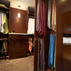 Contemporary Closet by nBaxter Design