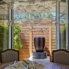 Contemporary Dining Room by Casa Nova Design Group