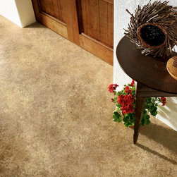 Armstrong Duality Vinyl Sheet Abella - Neutral Ground - The new Duality Premium vinyl floor has a fiberglass structure for high performance and 3D superior visuals for enhanced dimension, depth of color and definition.