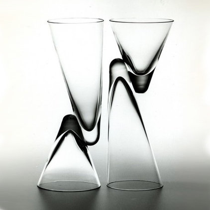 modern glassware by Switch Modern