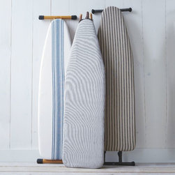Cotton Ironing Board Cover - In my ideal laundry room, I would have one of West Elm's new ironing board covers on my ironing board. They're enough to inspire me to save money on dry cleaning.