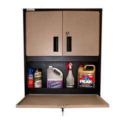 303633 30 in. Large Service Cabinet with Adjustable Shelves - Black ...