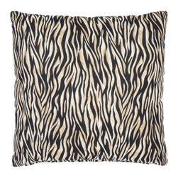 Safavieh Home Furniture - Zebra 18-Inch Ivoryand Black Decorative Pillows -Set of Two - - This gorgeous 18-inch Zebra Decorative Pillows (Set of 2) features a trendy black and ivory pattern with beige accents printed on beautiful 100% cotton fabric. Seamed with intricate detail this pillow offers the versatility to fit into a wide range of decor styles from modern-contemporary to country or traditional and in settings that are either casual or formal.   - Black  - Some assembly required - Yes  - Please note this item has a 30-day manufacturer's limited warranty that covers product defects. Inspect your purchase upon delivery and notify us immediately with any concerns. Safavieh Home Furniture - PIL414A-1818-SET2