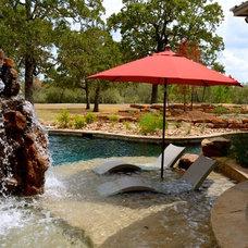 Tropical Pool by Ledge Lounger LLC