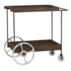 Contemporary Bar Carts: Find Rolling Bar Cart and Serving Cart Designs Online