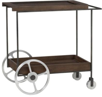 Contemporary Bar Carts by CB2