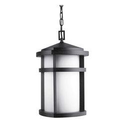 Kichler Lighting - Kichler Lighting 9567GNT Lantana Textured Granite Outdoor Lantern - Kichler Lighting 9567GNT Lantana Textured Granite Outdoor Lantern