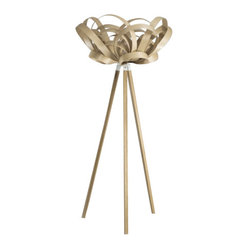 Bloom Light/Wooden Floor Stand